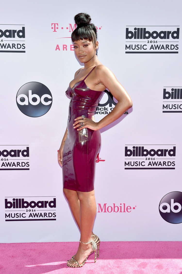 LAS VEGAS, NV - MAY 22: Actress/singer Keke Palmer attends the 2016 Billboard Music Awards at T-Mobile Arena on May 22, 2016 in Las Vegas, Nevada. (Photo by David Becker/Getty Images)